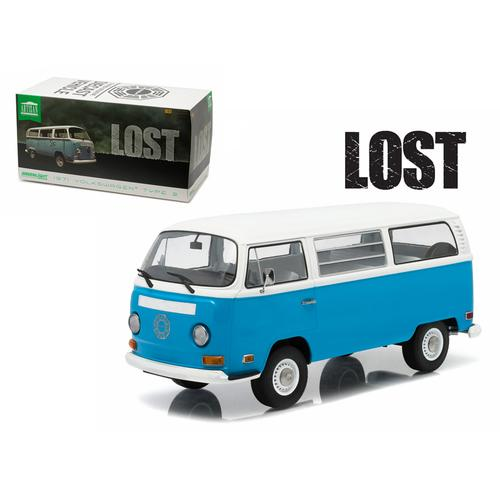 "1971 Volkswagen Type 2 Bus (T2B) ""Lost"" TV Series (2004-2010) 1/18 Diecast Model by Greenlight"