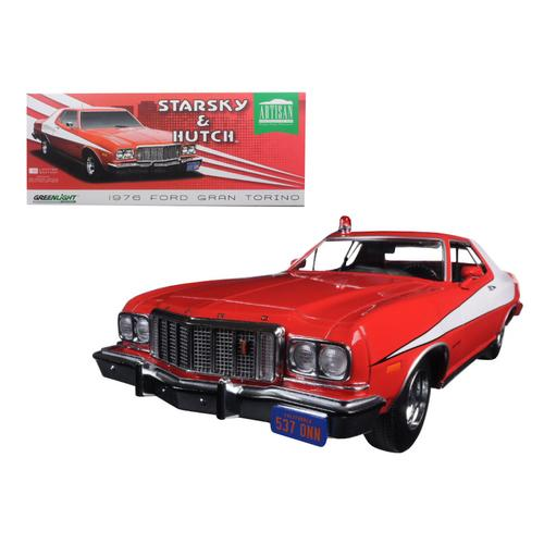 "1976 Ford Gran Torino ""Starsky and Hutch"" (TV Series 1975-79) 1/18 Diecast Model Car by Greenlight"