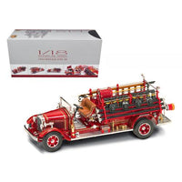 1932 Buffalo Type 50 Fire Truck Red with Accessories 1/24 Diecast Model by Road Signature