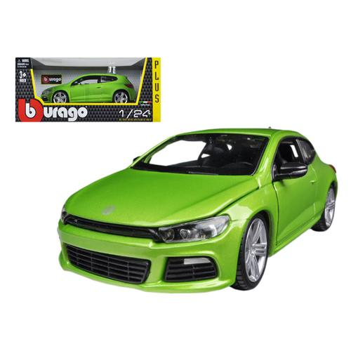 Volkswagen Scirocco R Green 1/24 Diecast Car Model by Bburago