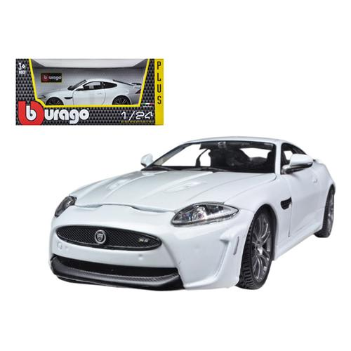 Jaguar XKR-S White 1/24 Diecast Car Model by Bburago