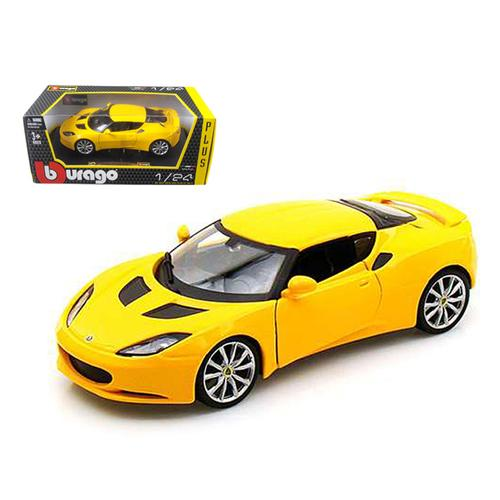 Lotus Evora S IPS Yellow 1/24 Diecast Car Model by Bburago
