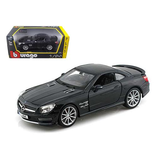 Mercedes SL 65 AMG Coupe Black 1/24 Diecast Car Model by Bburago