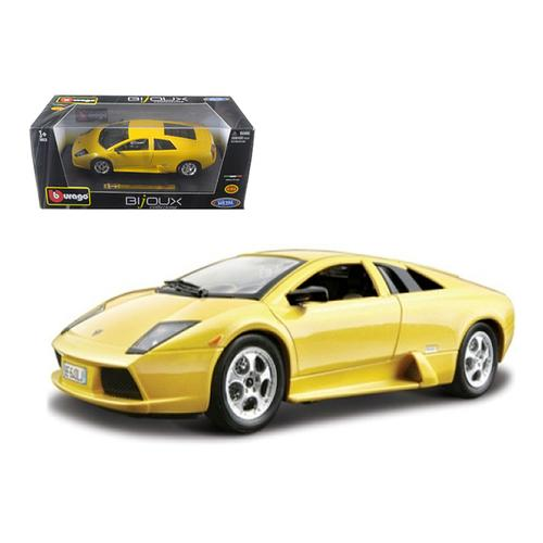 Lamborghini Murcielago Yellow 1/24 Diecast Model Car by Bburago