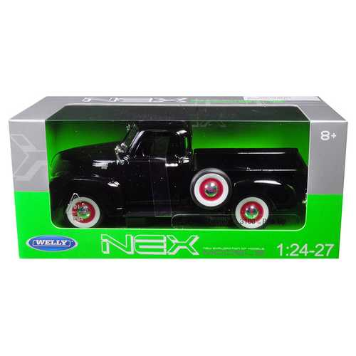 1953 Chevrolet 3100 Pick Up Truck Black 1/24 - 1/27 Diecast Model Car by Welly