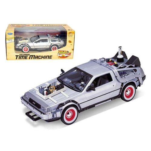 "Delorean From Movie ""Back To The Future 3"" 1/24 Diecast Car by Welly"
