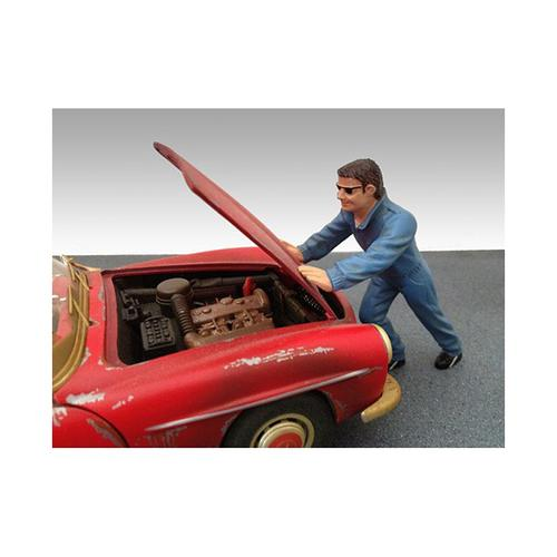 Mechanic Ken Figure For 1:18 Diecast Model Car by American Diorama