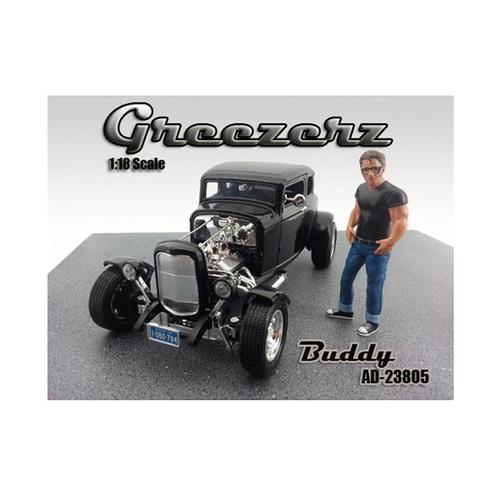 Greezerz Buddy Figure For 1:18 Diecast Model Cars by American Diorama