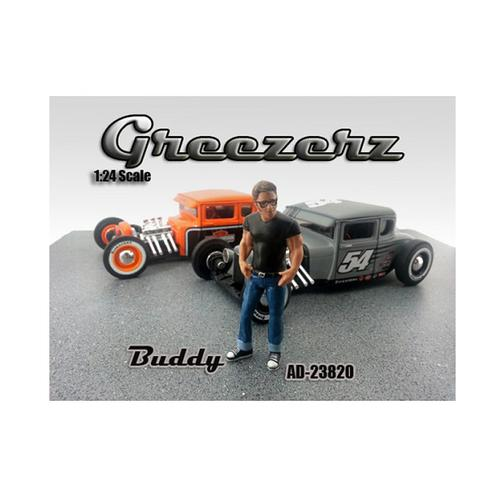 Greezerz Buddy Figure For 1:24 Diecast Model Cars by American Diorama