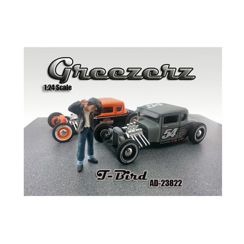 Greezerz T-Bird Figure For 1:24 Diecast Model Cars by American Diorama