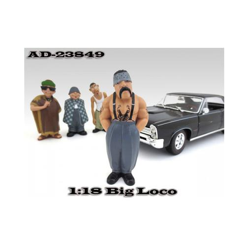 "Big Loco ""Homies"" Figure For 1:18 Diecast Model Cars by American Diorama"