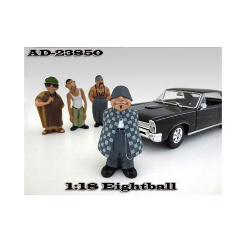 "Eightball ""Homies"" Figure For 1:18 Diecast Model Cars by American Diorama"
