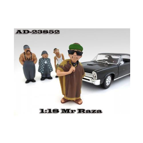 "Mr. Raza ""Homies"" Figurine For 1:18 Scale Diecast Model Cars by American Diorama"