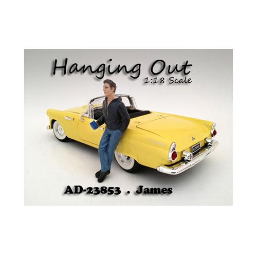 """Hanging Out"" James Figure For 1:18 Scale Models by American Diorama"