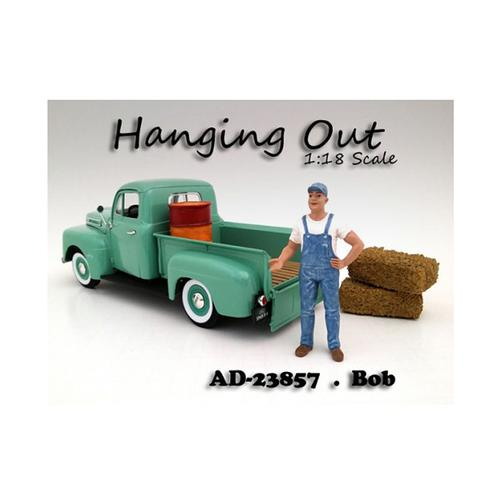"""Hanging Out"" Bob Figure For 1:18 Scale Models by American Diorama"