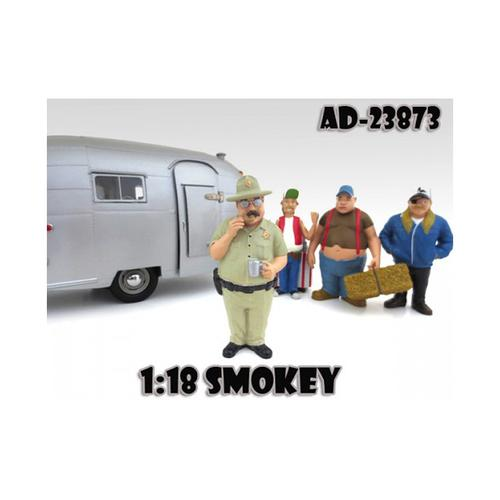 "Smokey ""Trailer Park"" Figure For 1:18 Scale Diecast Model Cars by American Diorama"