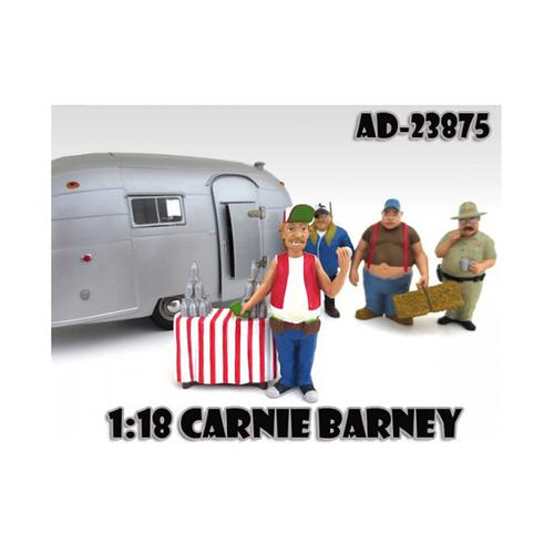 "Carnie Barney ""Trailer Park"" Figure For 1:18 Diecast Model Cars by American Diorama"