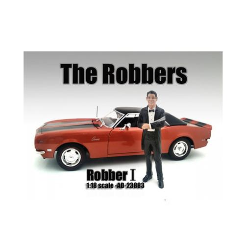 """The Robbers"" Robber I Figure For 1:18 Scale Models by American Diorama"