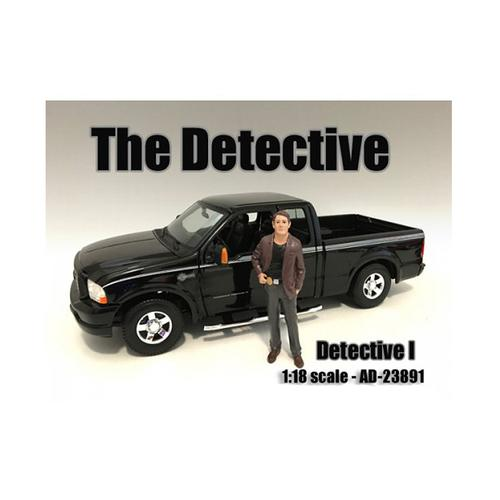 """The Detective #1"" Figure For 1:18 Scale Models by American Diorama"
