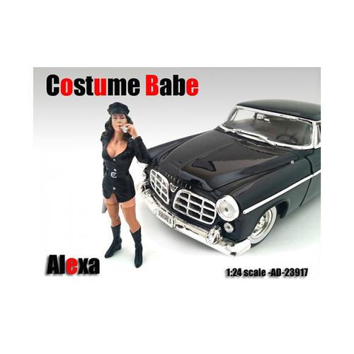 Costume Babe Alexa Figure For 1/24 Scale Models by American Diorama