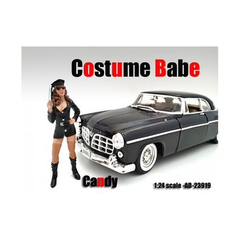 Costume Babe Candy Figure For 1:24 Scale Models by American Diorama