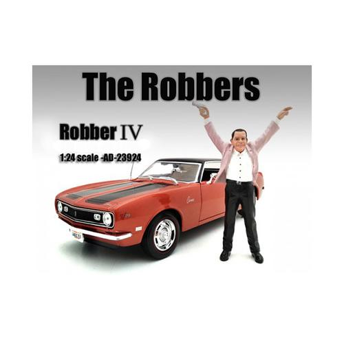 """The Robbers"" Robber IV Figure For 1:24 Scale Models by American Diorama"