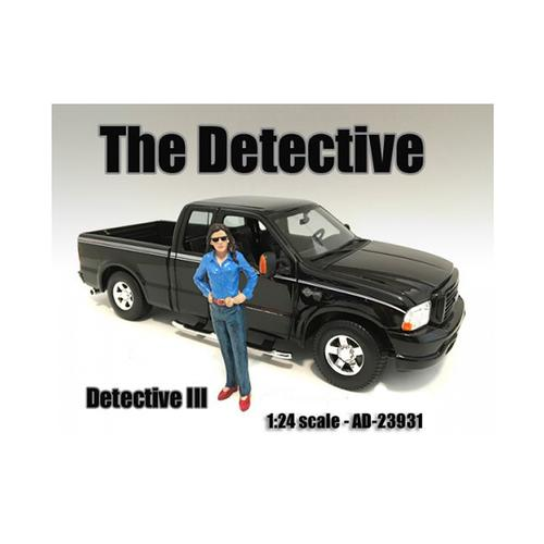 """The Detective #3"" Figure For 1:24 Scale Models by American Diorama"