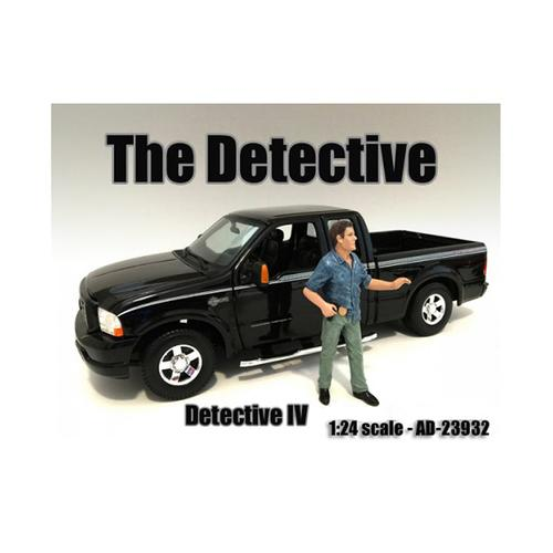 """The Detective #4"" Figure For 1:24 Scale Models by American Diorama"