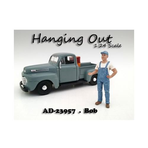 """Hanging Out"" Bob Figure For 1:24 Scale Models by American Diorama"
