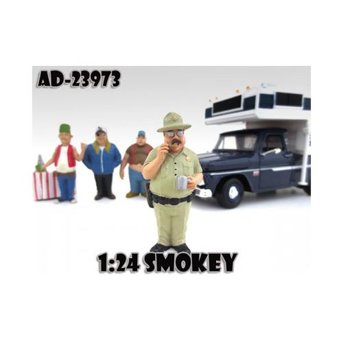 "Smokey ""Trailer Park"" Figure For 1:24 Diecast Model Cars by American Diorama"