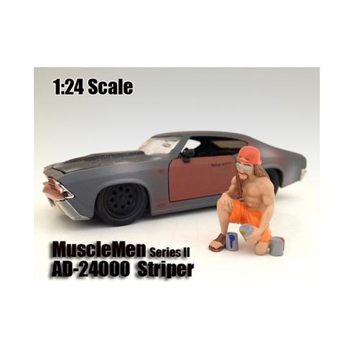 "Musclemen ""Striper"" Figure For 1:24 Scale Models by American Diorama"