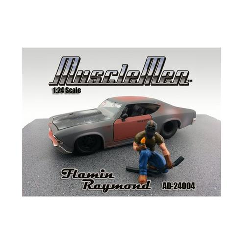 Musclemen Flamin Raymond Figure For 1:24 Diecast Model Cars by American Diorama