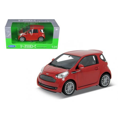 Aston Martin Cygnet Red 1/24 Diecast Car Model by Welly