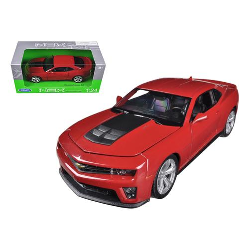 Chevrolet Camaro ZL1 Red 1/24 Diecast Car Model by Welly