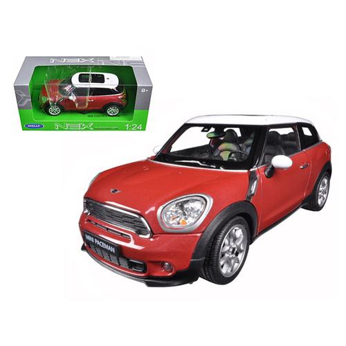 Mini Cooper S Paceman Red 1/24 Diecast Model Car by Welly