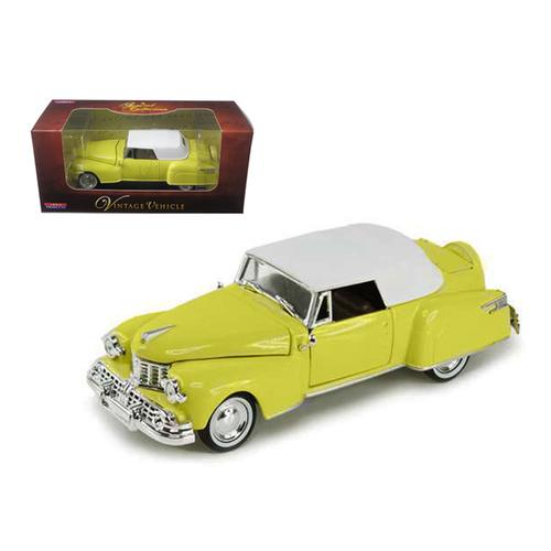1948 Lincoln Continental Yellow 1/32 Diecast Model Car by Arko Products