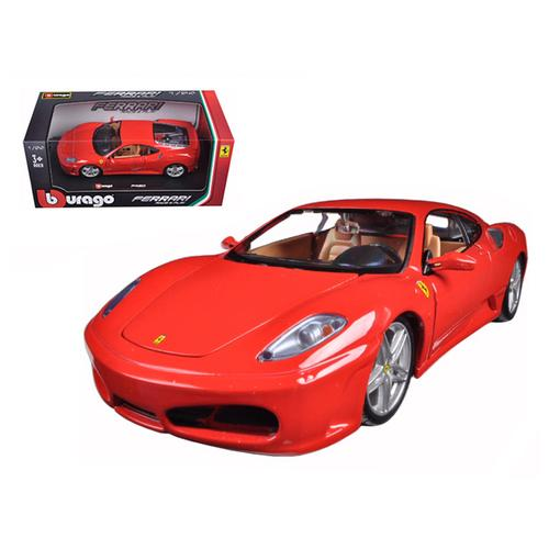 Ferrari F430 Red 1/24 Diecast Model Car by Bburago