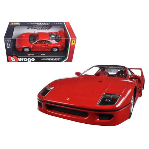 Ferrari F40 Red 1/24 Diecast Model Car by Bburago