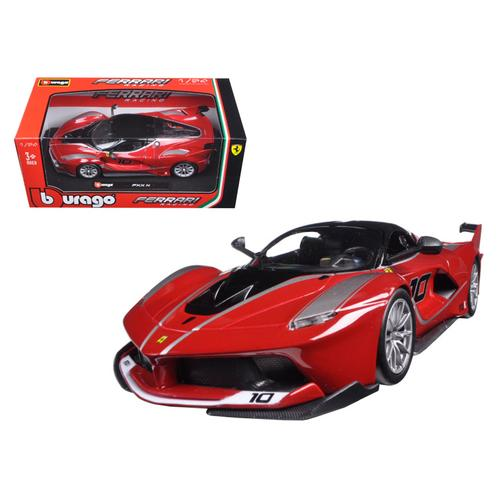 Ferrari Racing FXX-K #10 Red 1/24 Diecast Model Car by Bburago