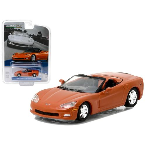 2012 Chevrolet Corvette Convertible Inferno Orange General Motors Collection Series 1 1/64 Diecast Model Car  by Greenlight