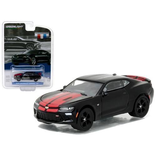 2016 Chevrolet Camaro SS Mosaic Black General Motors Collection Series 1 1/64 Diecast Model Car  by Greenlight