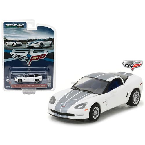 2013 Chevrolet Corvette Z06 60th Anniversary Edition Anniversary Collection Series 5 1/64 Diecast Model Car by Greenlight