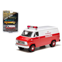 1977 Chevrolet G20 Van City Fire Department Hobby Exclusive 1/64 Diecast Car Model by Greenlight