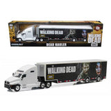 "Kenworth T2000 Hauler ""The Walking Dead"" TV Series (2010-Current) 1/64 Diecast Model Car  by Greenlight"