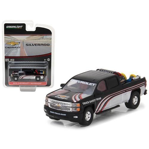 "2015 Chevrolet Silverado Pickup Truck with Safety Equipment 'Hobby Exclusive"" 1/64 Diecast Model Car by Greenlight"