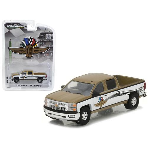 2015 Chevrolet Silverado Indianapolis Motor Speedway (IMS) Pickup Truck Hobby Exclusive 1/64 Diecast Model Car by Greenlight