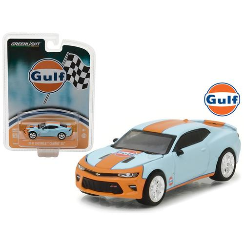 2017 Chevrolet Camaro SS Gulf Oil Hobby Exclusive 1/64 Diecast Model Car by Greenlight