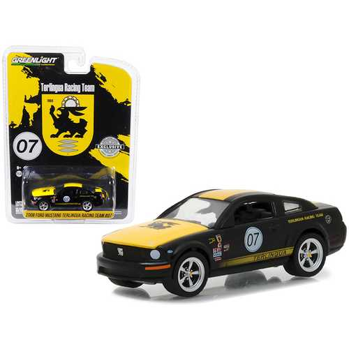 2008 Ford Mustang #07 Terlingua Racing Team Hobby Exclusive 1/64 Diecast Model Car by Greenlight
