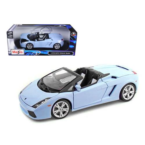 Lamborghini Gallardo Spyder Blue 1/18 Diecast Model Car by Maisto