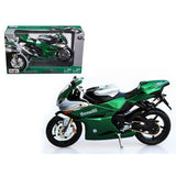 Benelli Tornado Tre 1130 Green/Silver Motorcycle 1/12 Diecast Model by Maisto
